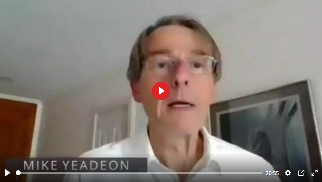 DR. MIKE YEADON, FORMER PFIZER VP LATEST MESSAGE – EVERYONE MUST LISTEN